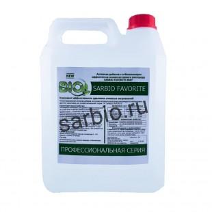 SARBIO FAVORITE 8807 концентрированное средство с отбеливающим эффектом на основе активного кислорода канистра 5 кг