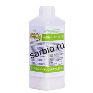 SARBIO FAVORITE 8803 концентрированное моющее средство для деликатных тканей, бутылка 0,9 кг