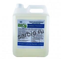 SARBIO FAVORITE 8805 концентрированный усилитель стирки с энзимным комплексом, канистра 5 кг