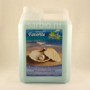 SARBIO FAVORITE Кондиционер-ополаскиватель Карибская жемчужина, канистра 5 кг