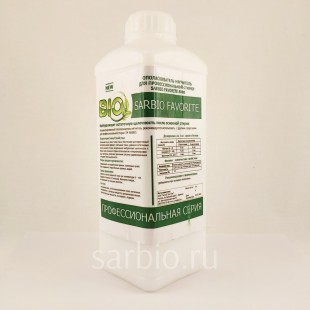 SARBIO FAVORITE 8808 концентрированное средство для нейтрализации остаточной щелочности и смягчения ткани, бутылка 1 кг