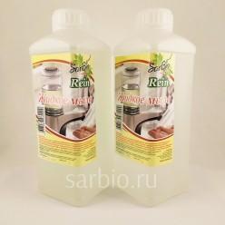 SARBIO RЕIN Жидкое мыло  бесцветное с ароматом Арбуз, бутылка 1 кг