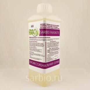 SARBIO FAVORITE 8809 концентрированное средство для ковровых изделий с помощью профессионального оборудования, бутылка 1 кг