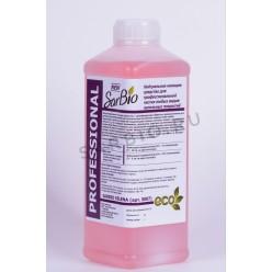 SARBIO SELENA нейтральное моющее средство для профессиональной чистки любых видов напольных покрытий, бутылка 1 кг
