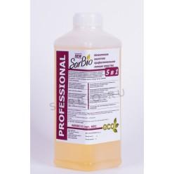 SARBIO K(НП) низкопенное кислотное профессиональное моющее средство, бутылка 1,1 кг