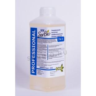 SARBIO К  универсальное кислотное профессиональное моющее средство, бутылка 1,1 кг