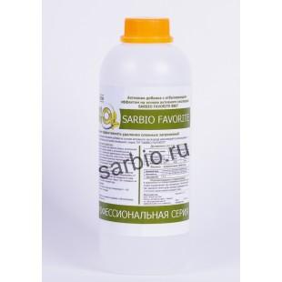 SARBIO FAVORITE 8807 концентрированное средство с отбеливающим эффектом на основе активного кислорода, бутылка 1 кг