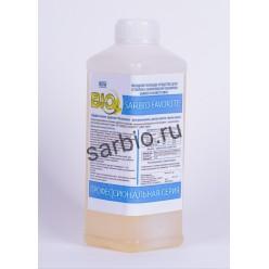 SARBIO FAVORITE 8802 жидкое моющее средство для стирки с комплексом энзимов, бутылка 1 кг