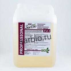 SARBIO K (НП) низкопенное кислотное профессиональное моющее средство, канистра 5 кг