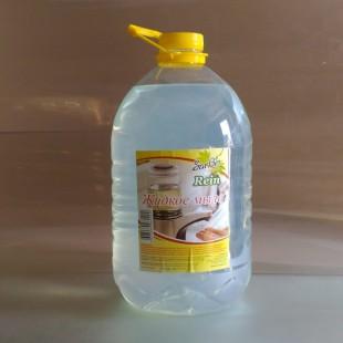 Жидкое мыло SARBIO RЕIN бесцветное, ПЭТ 5 кг