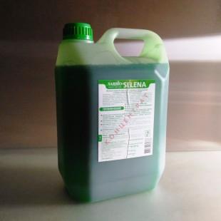 """Моющее средство """"Sarbio Selena""""  канистра 5 кг, нейтральное концентрированное моющее средство многоцелевого применения."""