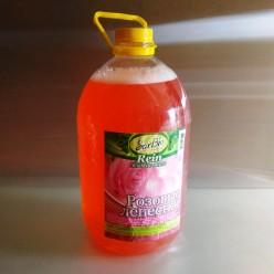 """Жидкое мыло  """"Sarbio Rein""""(розовые лепестки) ПЭТ 5 кг"""