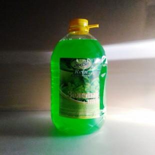 """Жидкое мыло  """"Sarbio Rein"""" (зелёный чай)  ПЭТ 5 кг"""