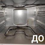 Этот духовой шкаф несколько лет не подвергался чистке. Итог- застарелые въевшиеся жировые загрязнения.  В данном случае использовали  средство Sarbio H 81-У, артикул 005,25% раствор. #профессиональнаяхимия #химиядлядома #клининг #sarbio